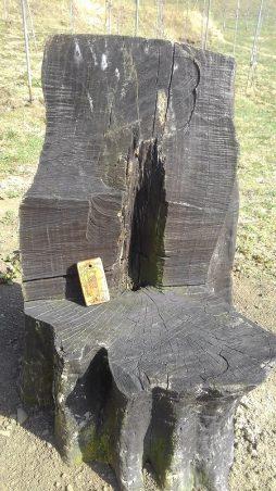 農場の椅子
